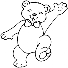 teddy bear coloring pages print aecost net aecost net