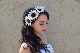 sunflower headband white sunflower headband c1026 vividbloom