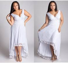 discount hi lo plus size wedding dresses new years gowns designer