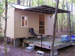 awesome portable hunting cabins georgia using small sliding glass