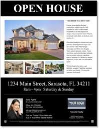 template for flyer free free customizable open house flyers downloadable templates