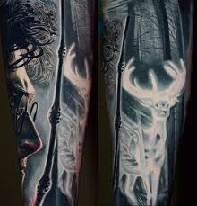 this harry potter tattoo sleeve may give you goosebumps
