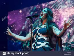 munich germany 27th may 2016 floor jansen singer of the band