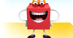 mcdonald s new mascot is a box with teeth