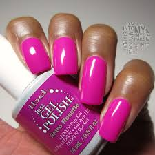 mini manicures ibd just gel polish retro rosette simply into