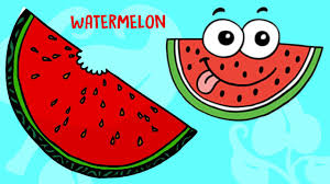water melon fruit song english fruit rhymes cartoon for kids