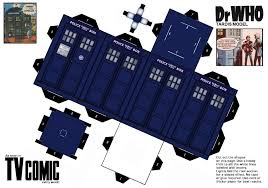 build a doctor make your own tardis printout doctor who sorry is my