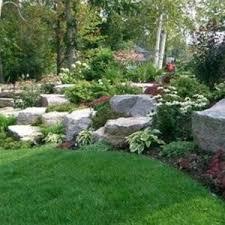 perennial large rock garden ideas natural rock garden ideas