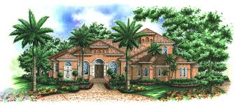 Tuscan Home Plans Beautifully Designed Tuscan House Plan 66185we 1st Floor