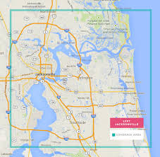 Map For Florida by Lyft Map For Jacksonville And Free Ride Credits 50 Lyft Code