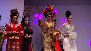 Beauty Garde Avant Garde Updo Make Up Hairstyle In Ima Beauty Expo