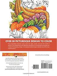 amazon creative haven autumn scenes coloring book
