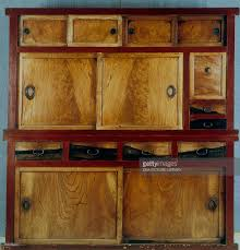japanese kitchen cabinet kitchen cabinet doors and drawers 19th century wood lacquer and