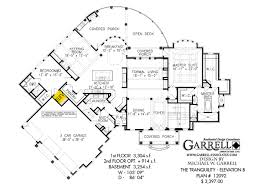 tranquility elevation b house plan country farmhouse southern