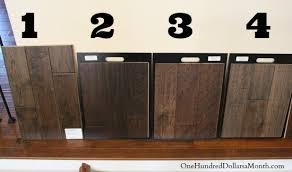 brown hardwood flooring one hundred dollars a month