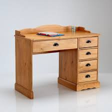 bureau en pin massif bureau pin massif finition cirée authentic style ciré naturel la