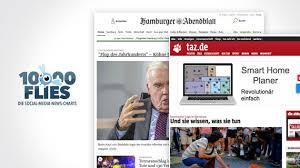 fly si e social 10000 flies likemedien ranking hamburger abendblatt und taz