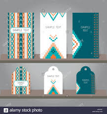 Business Card Invitation Set Of Abstract Invitation And Tags Templates Background For