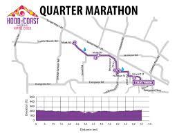 Hillsboro Oregon Map by Les Schwab Tires Hippie Quarter Marathon 15k U0026 Half