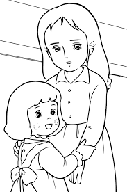 coloriage princesse sarah les beaux dessins de dessin animé à