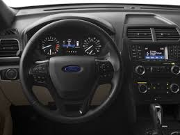 Ford Explorer Interior Dimensions 2017 Ford Explorer Details On Prices Features Specs And Safety