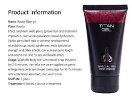 men 50ml 100 original titan gel intimate lubricant for big penis