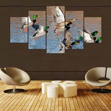 Hunting Decor For Living Room by Online Get Cheap Duck Hunting Painting Aliexpress Com Alibaba Group