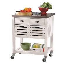 outdoor kitchen carts and islands decorating utility wood top kitchen cart stainless steel kitchen