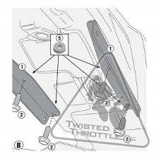 givi adapter for installing te2115 without fz2115 yamaha fz 09 u002714