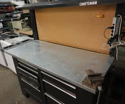 Workbench With Light 8 Foot Craftsman Workbench U2013 200 The Stock Pile