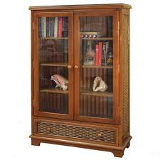 large bookcase with glass doors furniture home cozy vintage glass door bookcase vintage glass