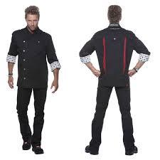 veste de cuisine homme noir noir cuisine signification veste de cuisine juliuso veste de