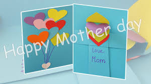 Popup Card Making Ideas Mothers Day Pop Up Card Easy Craft Ideas