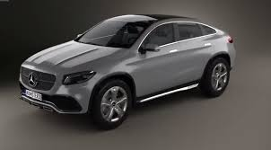suv mercedes mercedes benz concept coupe suv in 3d looks a bit porky