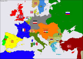 Europe 1815 Map by Europe 1914 By Hillfighter On Deviantart