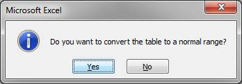 convert the table to a normal range remove table format in excel teachexcel com