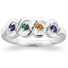 rings with children s names 170 best best mothers day rings images on rings