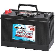 shop deka 12 volt 810 amp marine battery at lowes com