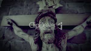horror scary jesus on the cross 10937 royalty free video and