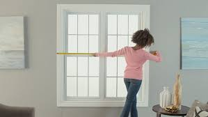How To Measure For Grommet Curtains How To Hang Curtains Canadian Tire