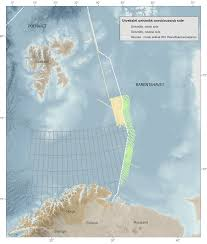Barents Sea Map Russia And Norway To Exchange Seismic Data U2013 High North News