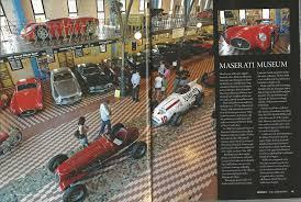maserati museum maserati u0027s centennial brochure