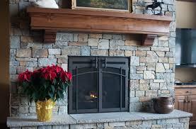 custom fireplace glass doors fleshroxon decoration