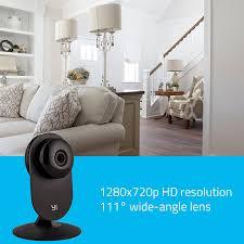 interior home surveillance cameras amazon com yi home camera wireless ip security surveillance