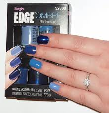 sophie jenner nails fing u0027rs blue ombre nail set review