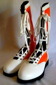 s fall boots size 12 orange w white tip pro boots size 12 lucha