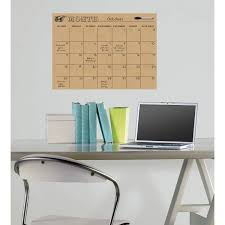 Wallpops Dry Erase Monthly Calendar Decal Walmart Com
