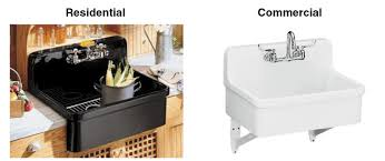 utility and service sinks