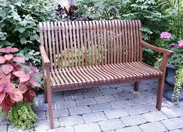 amazon com outdoor interiors vc6080 venetian deluxe bench