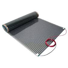 Heated Floor Under Laminate Thermosoft 5 Ft X 36 In 120 Volt Floor Heating Film Covers 15
